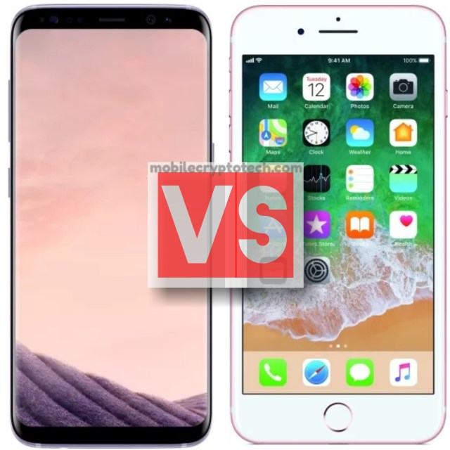 Samsung Galaxy S8 Plus Vs Apple iPhone 7 Plus