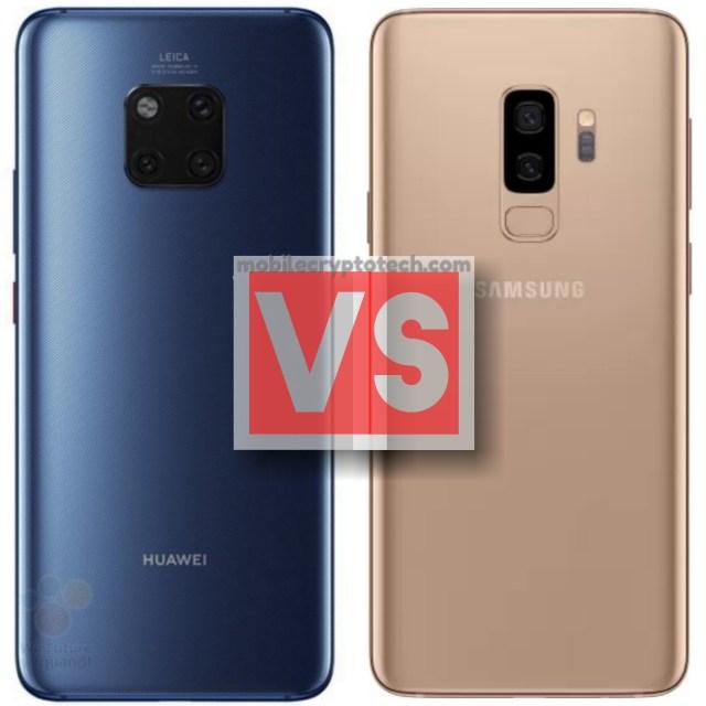 Huawei Mate 20 Pro Vs Samsung Galaxy S9 Plus
