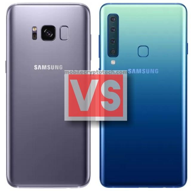 Samsung Galaxy S8 Vs A9 2018
