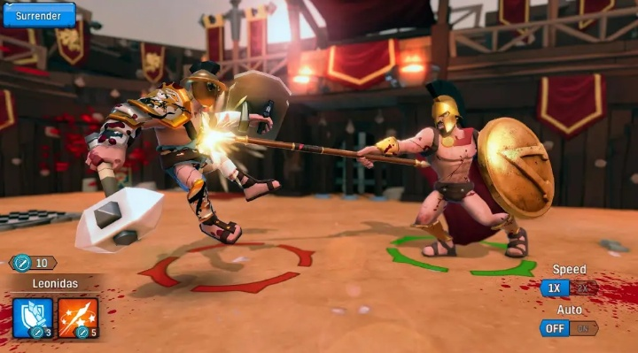 Gladiator Heroes Clash MOD APK