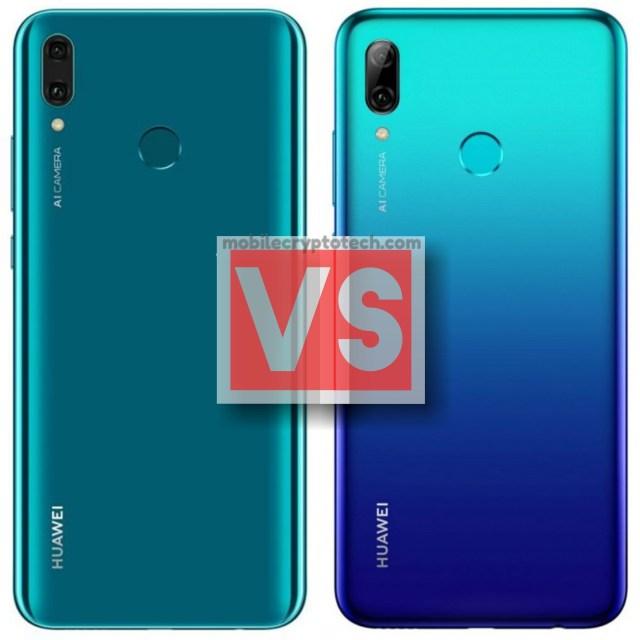 Huawei Y9 2019 Vs P smart 2019