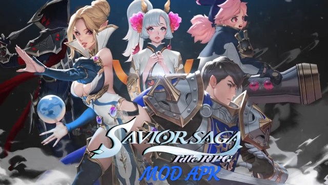 Savior Saga: Idle RPG MOD APK