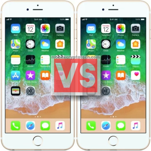 Apple iPhone 6S Vs iPhone 6S Plus