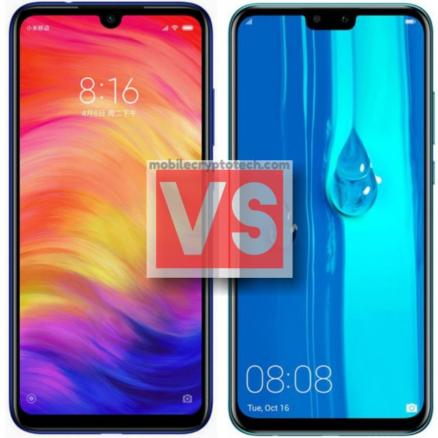 Xiaomi Redmi Note 7 Vs Huawei Y9 2019