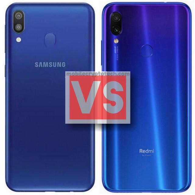 Samsung Galaxy M20 Vs Redmi Note 7