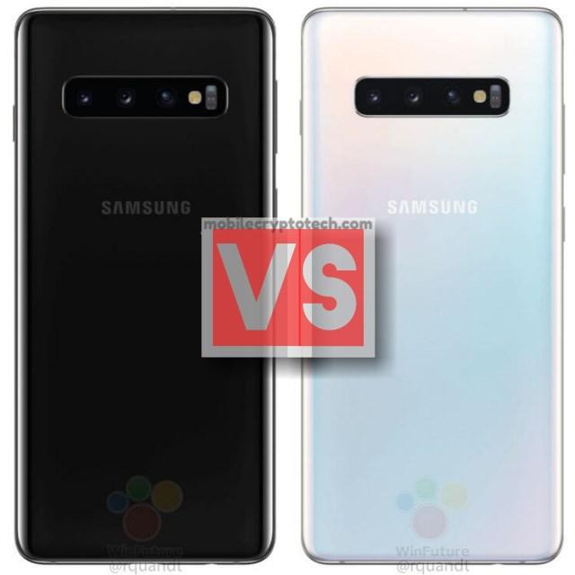 Samsung Galaxy S10 Vs S10 Plus