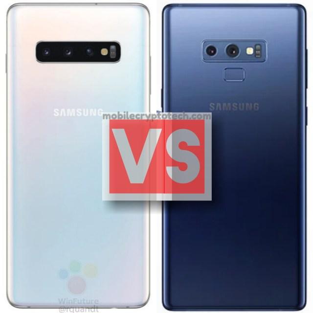 Samsung Galaxy S10 Plus Vs Note 9
