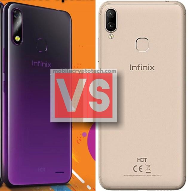Infinix Hot 7 Vs Hot 6X