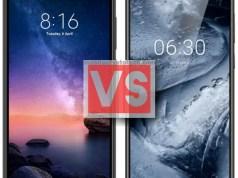 Xiaomi Redmi Note 6 Pro Vs Nokia 6.1 Plus