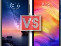 Xiaomi Redmi Note 6 Pro Vs 7 Pro