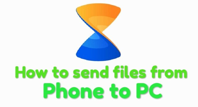 How to use send files from phone to PC with Xender