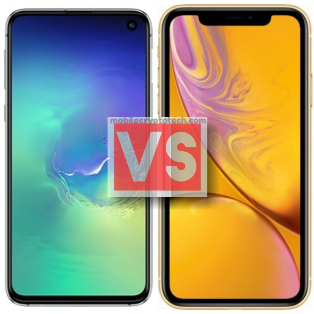 Samsung Galaxy S10E Vs iPhone XR