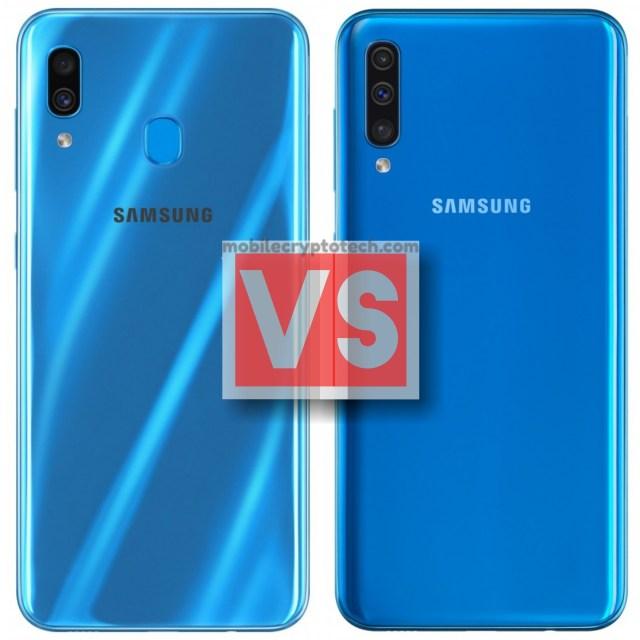 Samsung Galaxy A30 Vs A50
