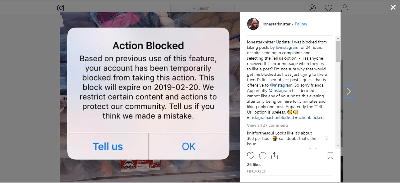 Instagram Action Blocked: How To Unblock It In 3 Seconds