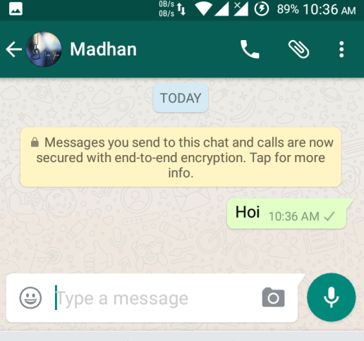 know if you have been blocked on WhatsApp