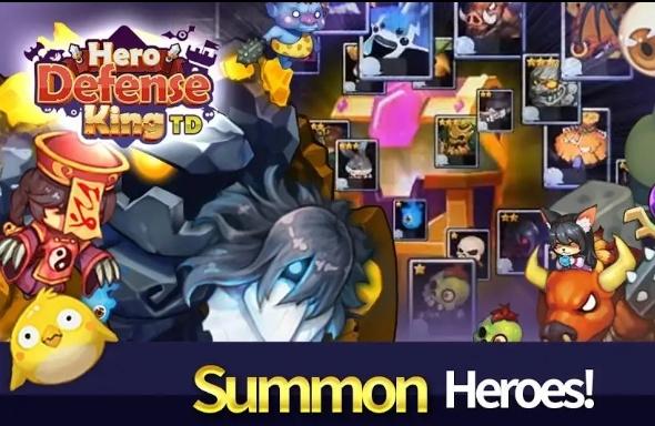 Hero Defense King MOD APK