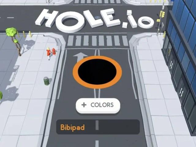 Hole.io MOD APK