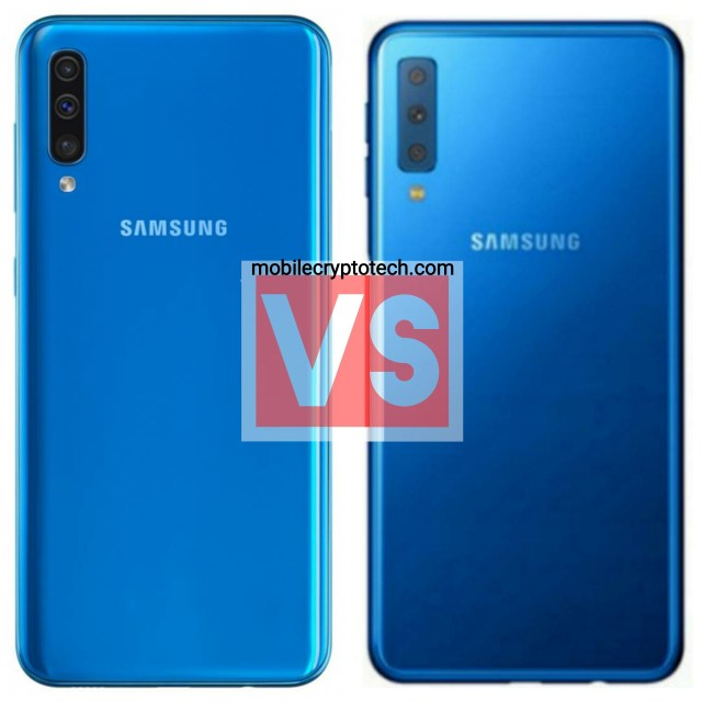 Samsung Galaxy A50 Vs A7 2018