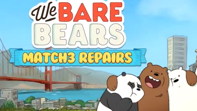We Bare Bears Match3 Repairs MOD APK