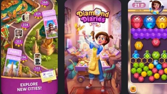 Diamond Diaries Saga MOD APK