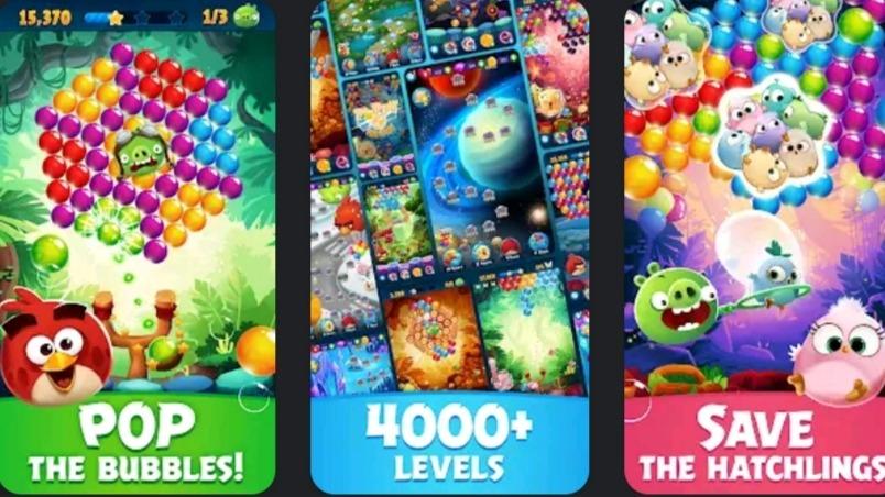 Angry Birds POP Bubble Shooter MOD APK