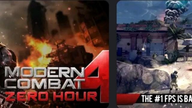 Modern Combat 4: Zero Hour MOD APK