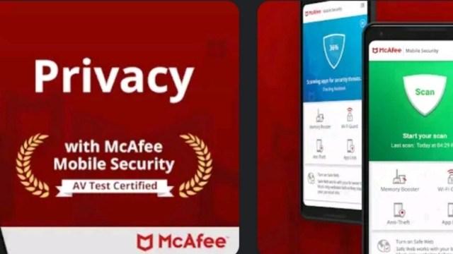 McAfee Mobile Security Plus MOD APK
