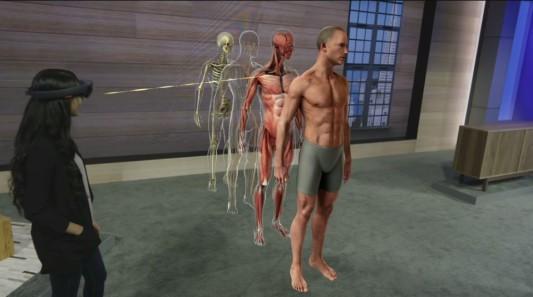 HoloLens Medizin Bildung