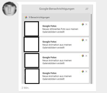google benachrichtigungen stapel (2)