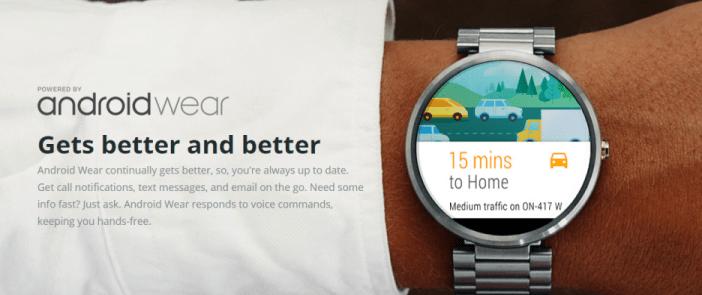 Mit Android Wear kann man nun auch Flüge einchecken