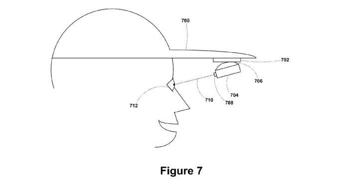 google glass patent kappe cap