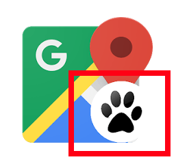 google maps hundepfote_2