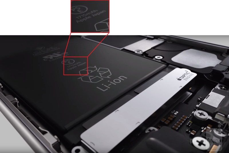 iphone 6s batterie akku kapazitaet