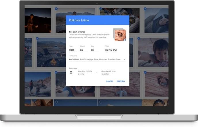 google fotos batch edit