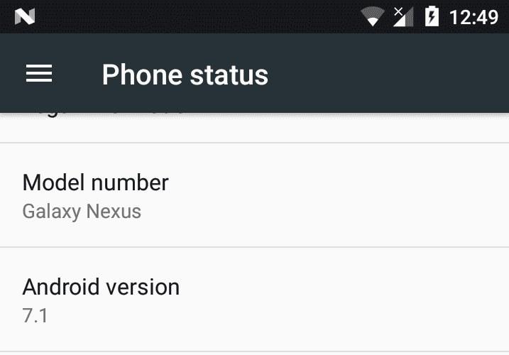 android-7-1-nougat-galaxy-nexus-custom-rom