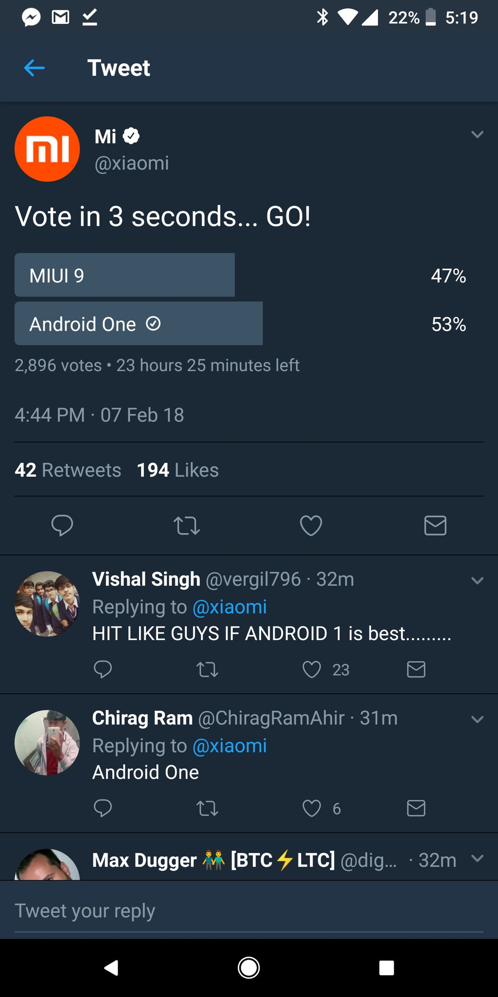 xiaomi android one vs miui twitter (1) — mobileCTRL
