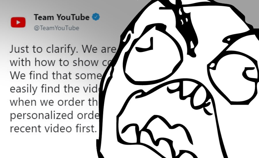 YouTube könnte den Feed ent-chronologisieren