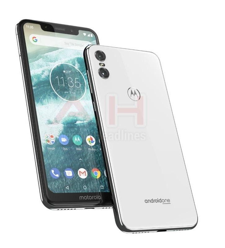 Motorola Moto One zeigt sich – erinnert auch an das iPhone X ...