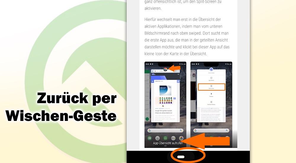 Zurück per Wischen: so deaktiviert man den Back-Button unter Android Q