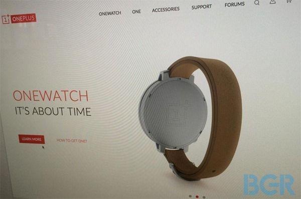 ภาพหลุด OneWatch นาฬิกาอัจฉริยะตัวแรกจากค่าย One Plus มาพร้อมหน้าปัดกลม กระจกแซฟไฟร์