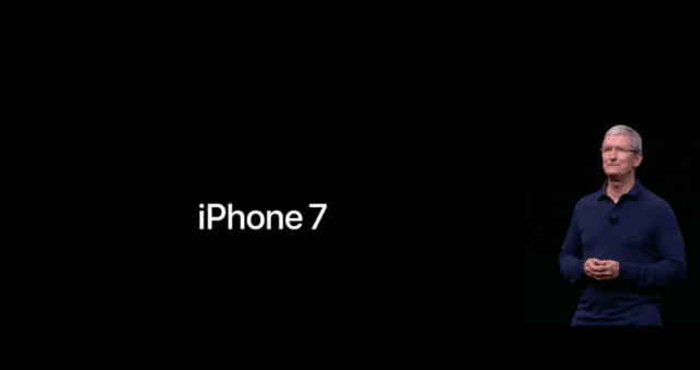 iPhone 7 and Tim Cook