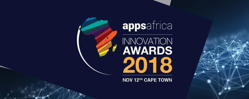 AppsAfrica Innovation Awards 2018 - November 12 - South Africa