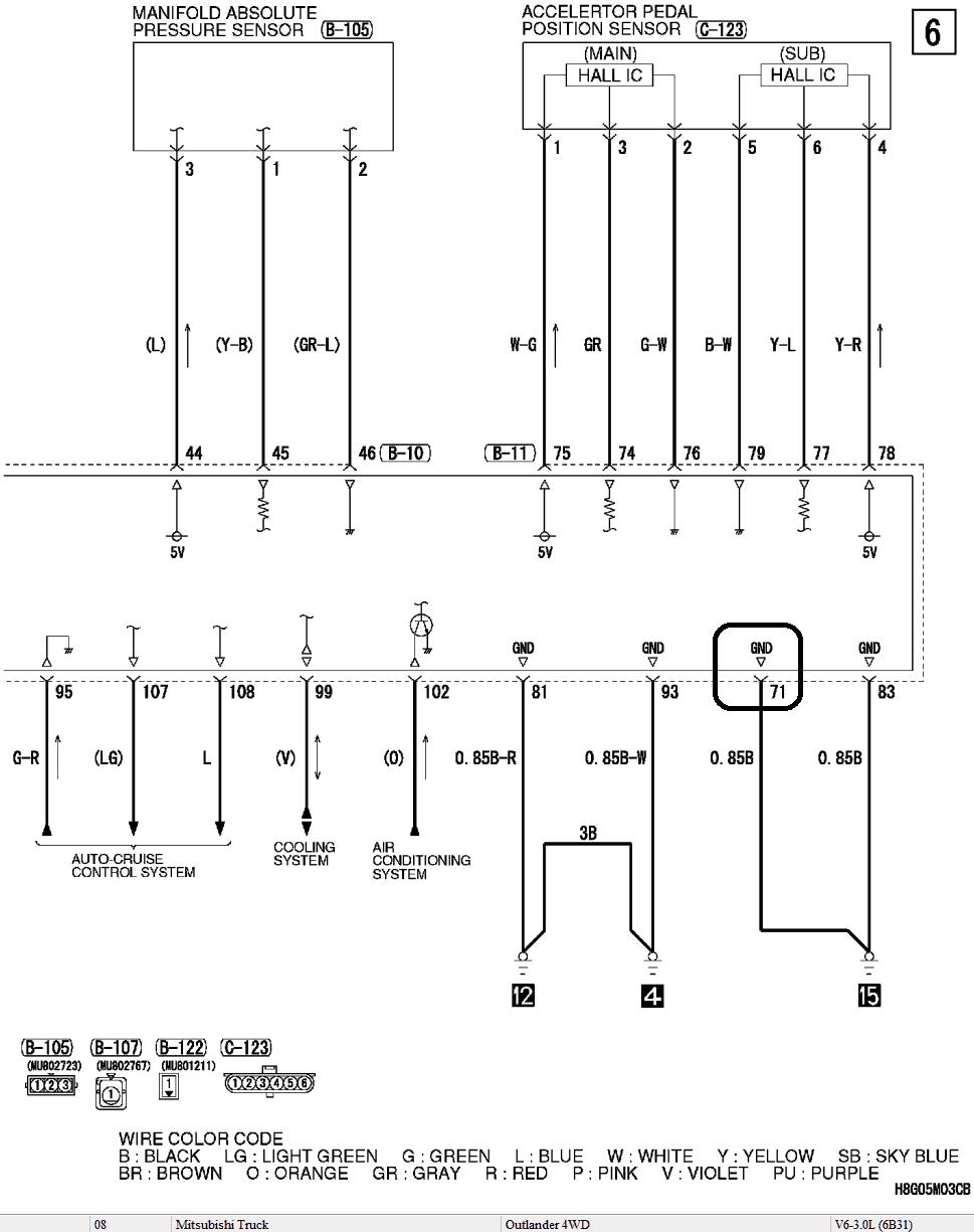 Эмулятор катализатора Mitsubishi Outlander