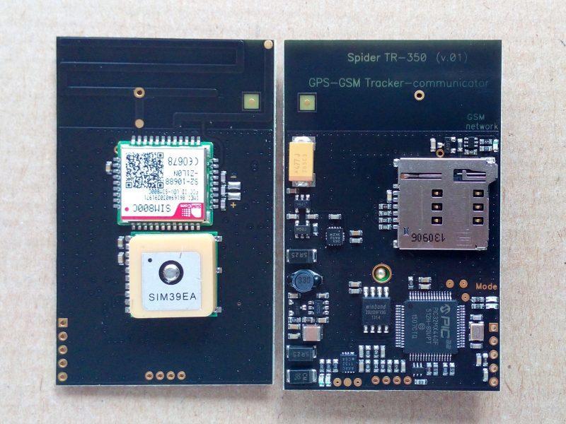 GPS трекер маяк Spider TR-350