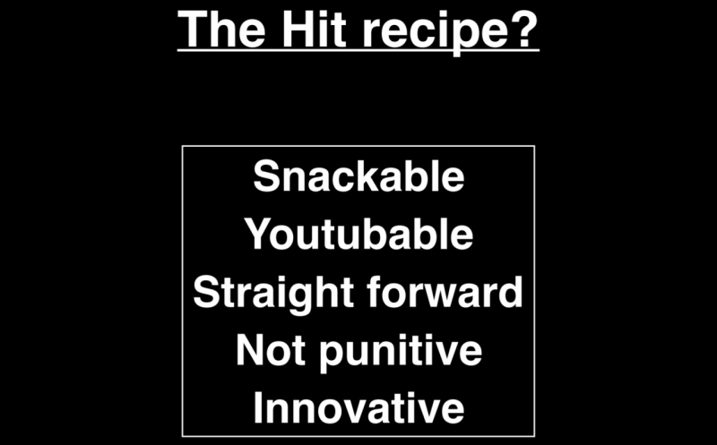 The hit recipe to mobile game development