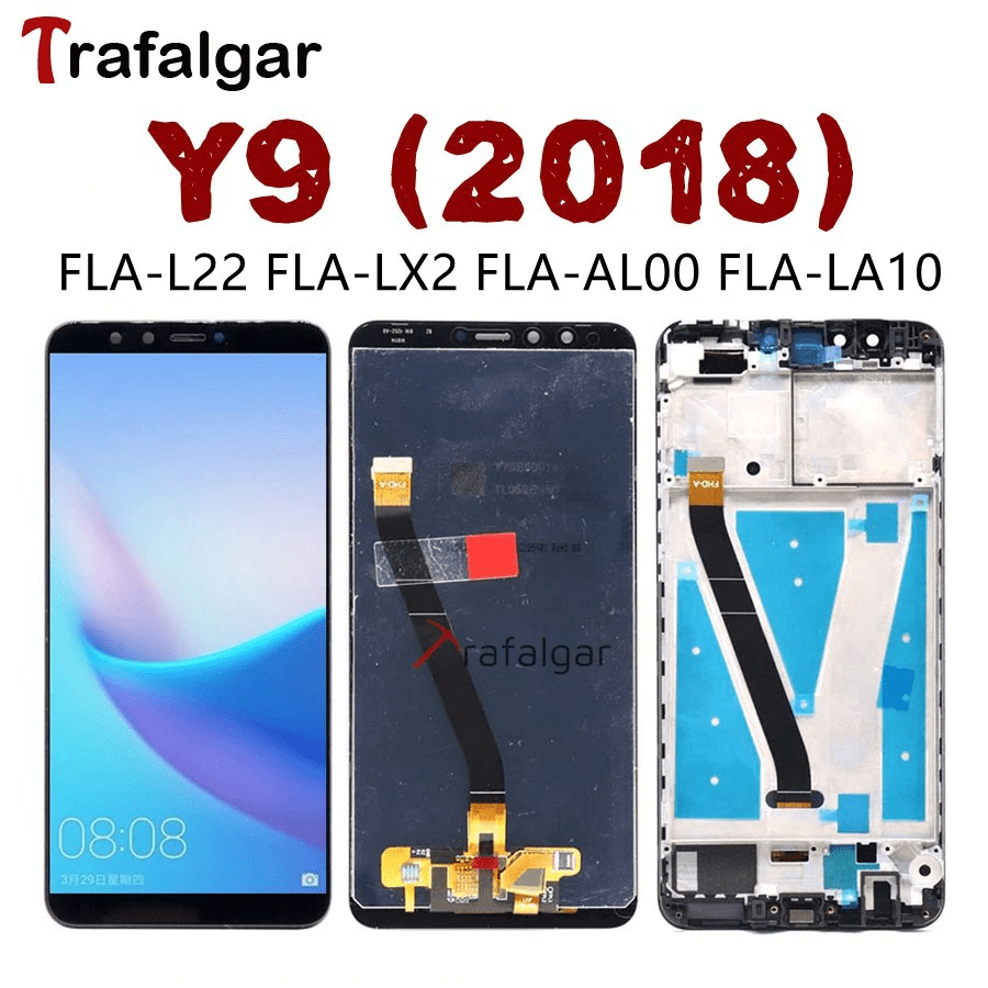 Huawei Y9 2018 LCD Display Touch Screen Digitizer buy in Pakistan