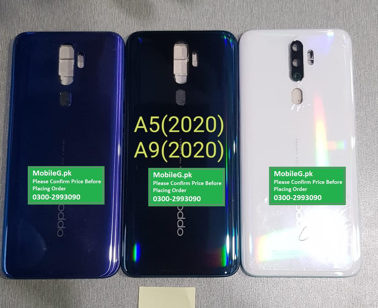 Oppo A5 2020 Complete Housing Back & Middle Frame Buy In Pakistan