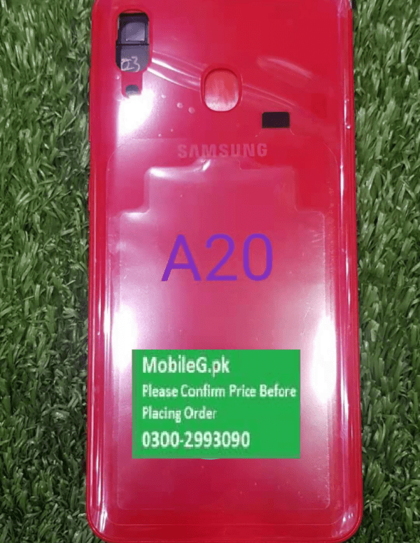 Samsung A20 Complete Housing Back Case & Middle Frame Buy In Pakistan