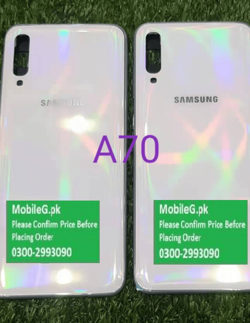 Samsung A70 Complete Housing Back Case & Middle Frame Buy In Pakistan
