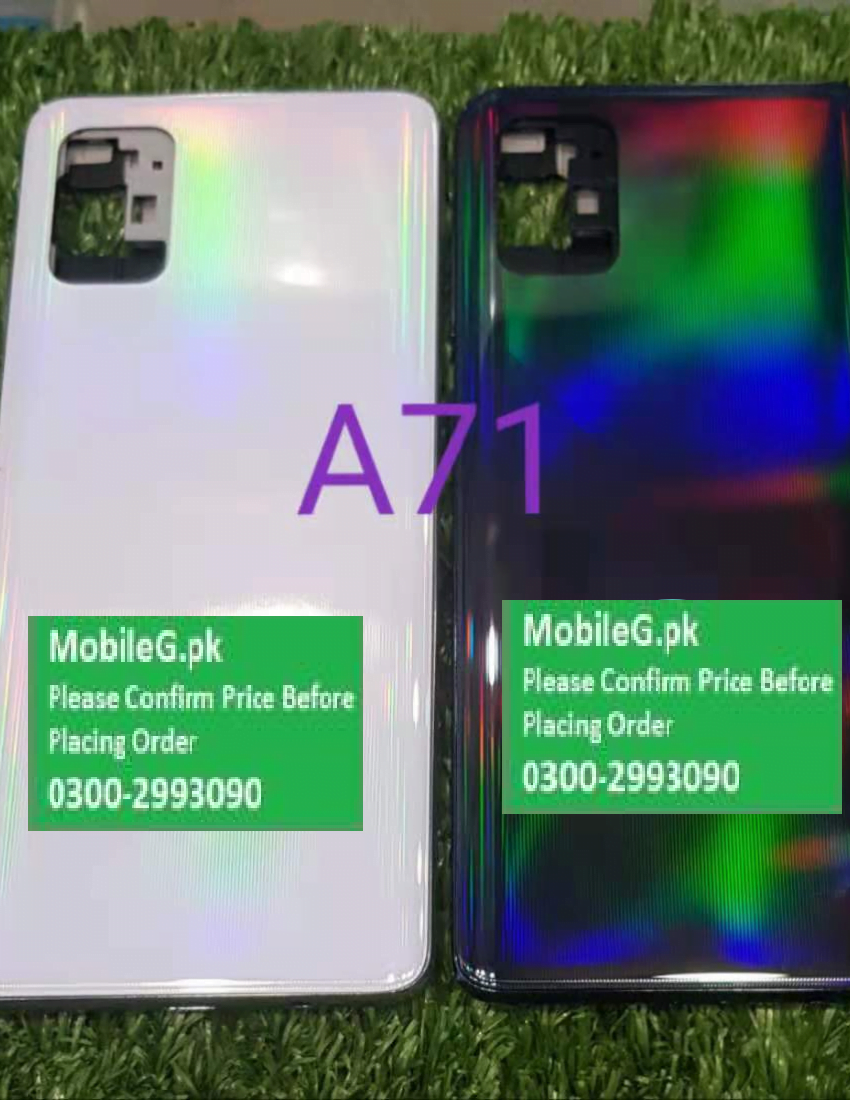 Samsung A71 Complete Housing Back Case & Middle Frame Buy In Pakistan